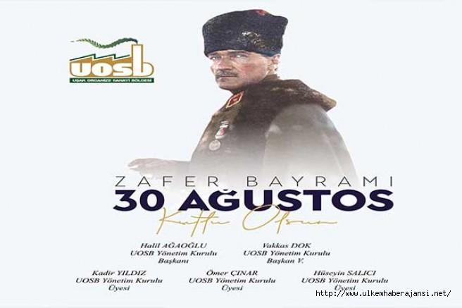 OSB  30 Ağustos Zafer Bayramı Mesajı