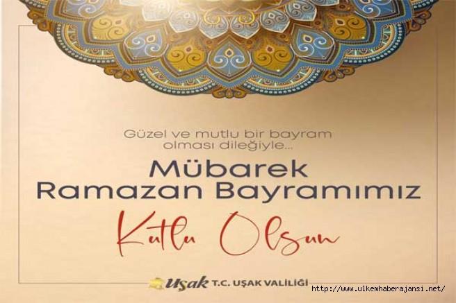 Vali Funda Kocabıyık'ın Ramazan Bayramı mesajı